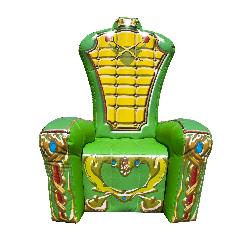 Green Throne Chair