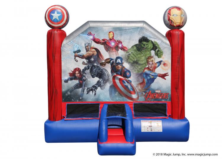 Marvel Avengers Bounce House 15