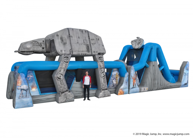 Star Wars 50 Foot Obstacle Course