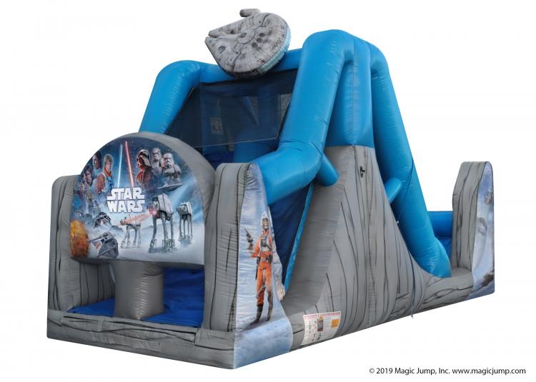 16 Foot Star Wars Dual Lane Water Slide