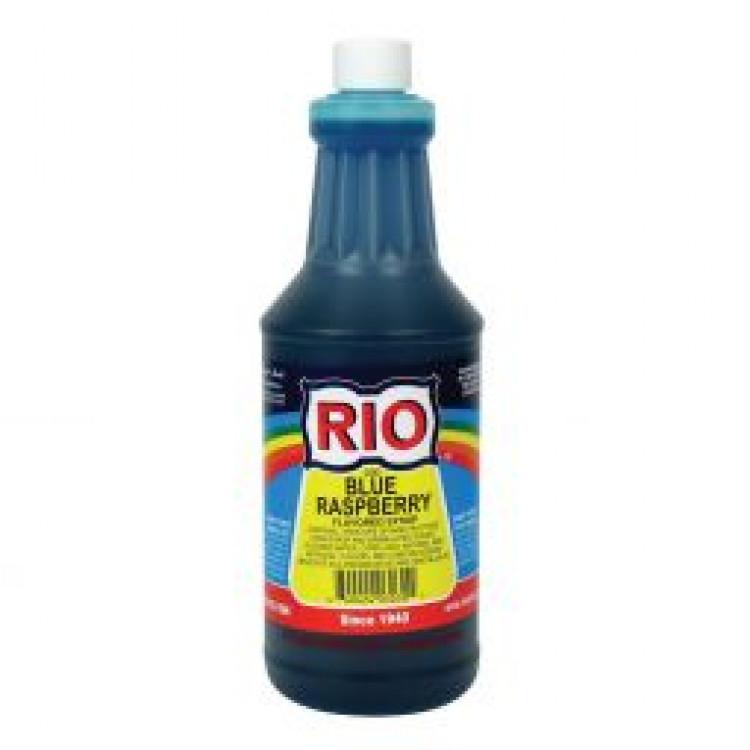 Blue Raspberry Snow Cone Syrup (Quart)