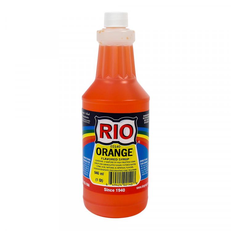 Orange Snow Cone Syrup (Quart)
